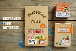 ノートや手帳をもっと楽しくするアイテム