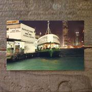 TF ポストカード 香港 フェリー柄 (07100075)