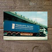TF ポストカード TFA トラック柄 (07100077)