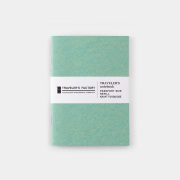 TF トラベラーズノート パスポートサイズ リフィル クラフト ターコイズ (07100232)