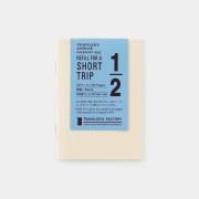 TF トラベラーズノート パスポートサイズ リフィル ST クリーム (07100351)
