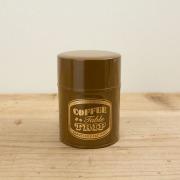 TF コーヒー缶<SS> コーヒーテーブルトリップ 茶