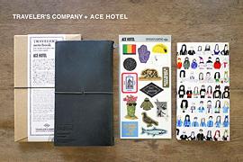 ACE HOTELとトラベラーズカンパニーとのコラボレーションアイテムの第2弾 TRAVELER'S COMPANY + ACE HOTEL